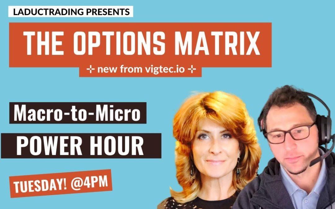 TESTING YOUTUBE AUTO POST JF. – Macro-to-Micro Power Hour – The Options Matrix