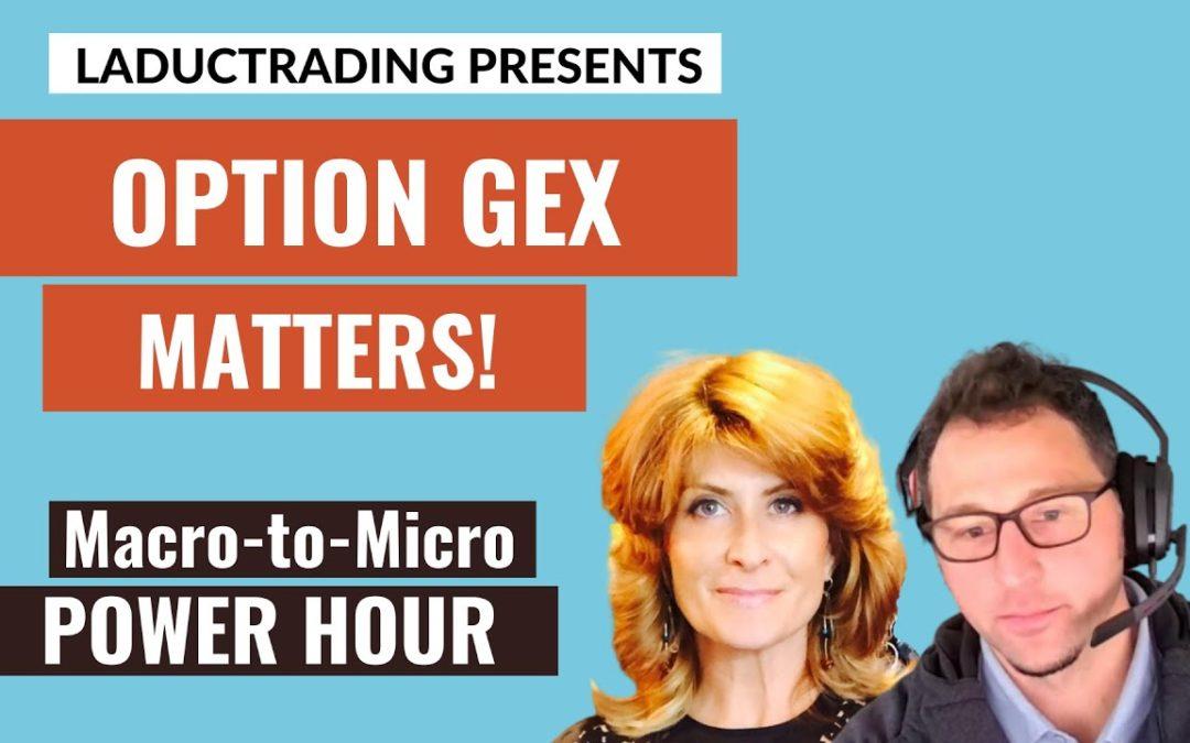 Macro-to-Micro Power Hour: Option GEX Matters!